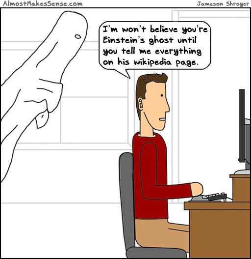 Ghost Wikipedia