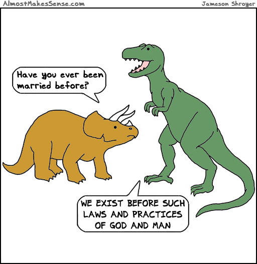 Dinosaurs Married