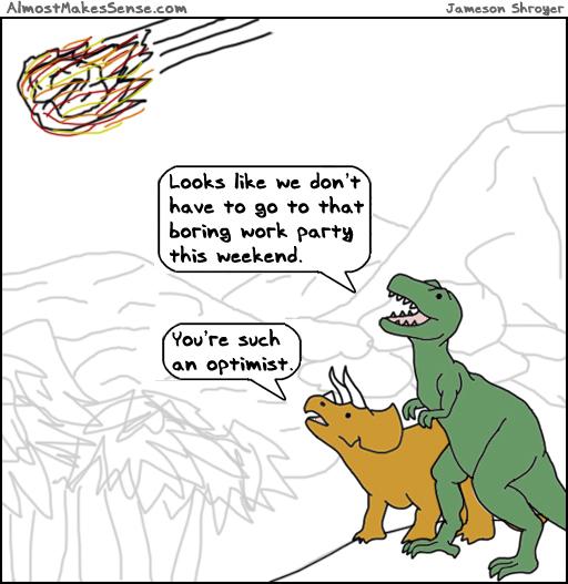 Dinosaurs Optimist