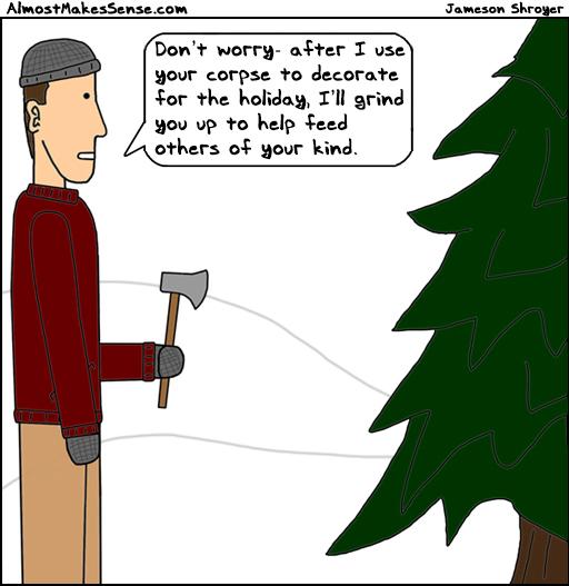 Holiday Mulch