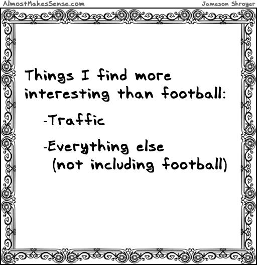 Football Interesting