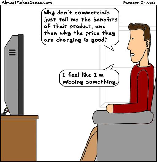 Commercials Reasons