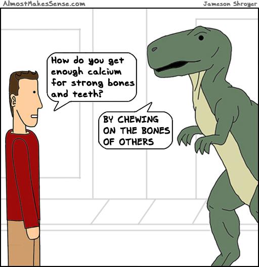 Dinosaur Calcium