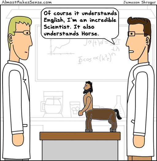 Centaur Speak