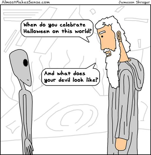 Alien Halloween