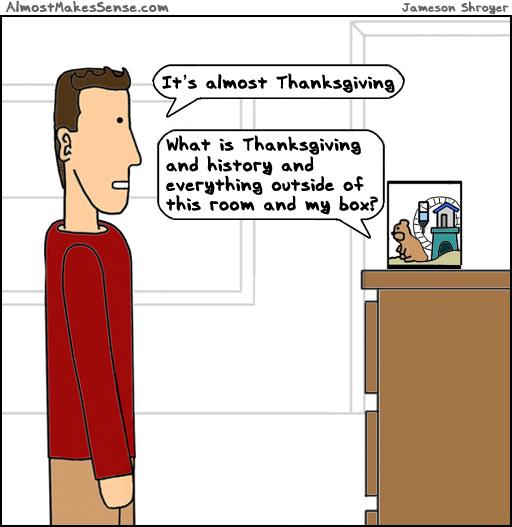 Hamster Thanksgiving