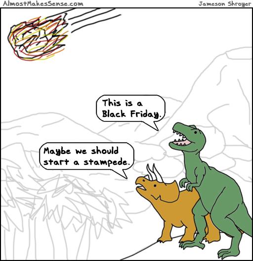 Dinosaur Black Friday