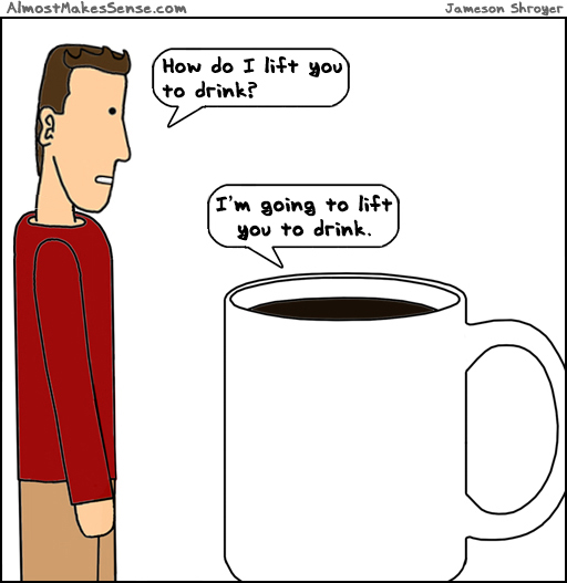 Lift to Drink