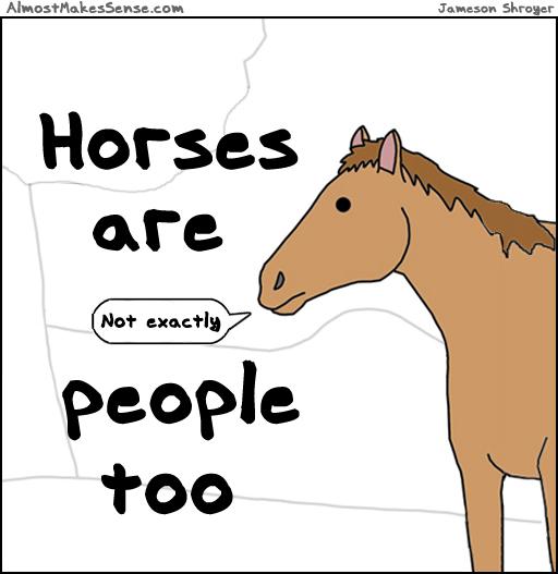 Horses People