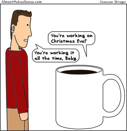 Christmas Eve Work