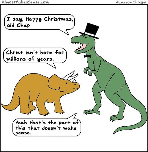 Christmas Dinosaurs
