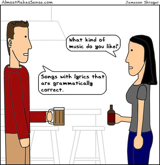 Songs Grammar
