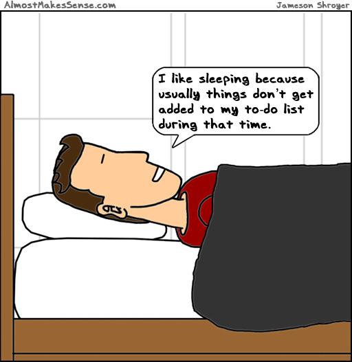 Sleeping To-Do