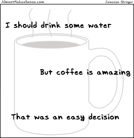 Water Coffee Decision