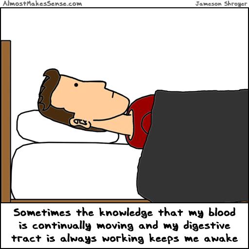 Blood Digestion Awake