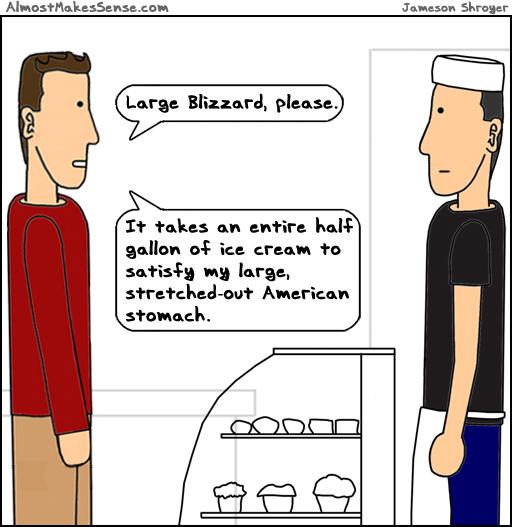 Ice Cream Stomach