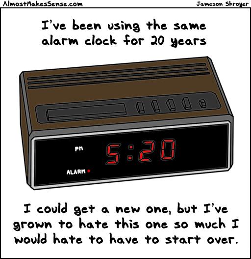 Alarm Clock Hate