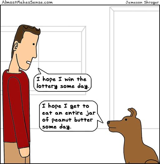 Lottery Peanut Butter
