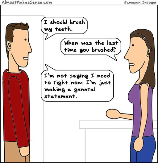 Should Brush