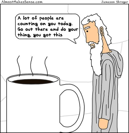 Coffee Pep Talk