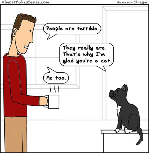 Glad Cat