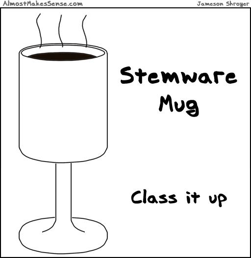 Stemware Mug