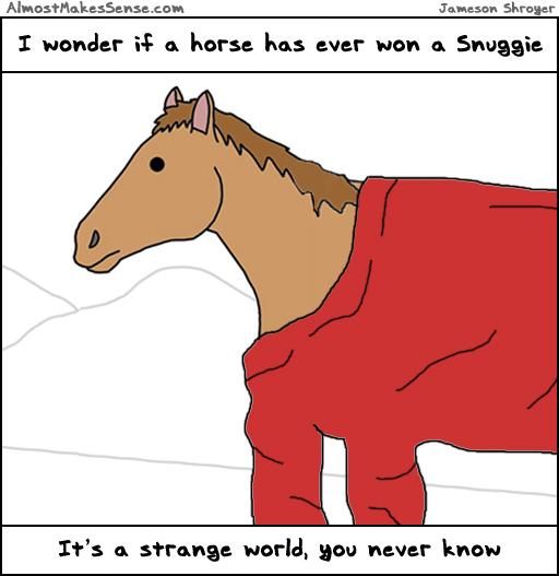 Horse Snuggie
