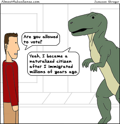 Dinosaur Citizen