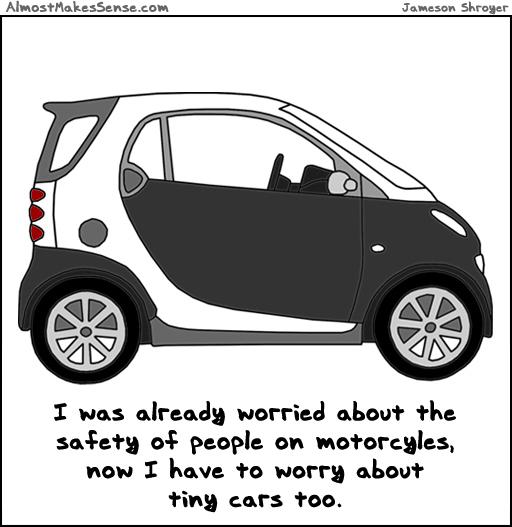 Worry Tiny Cars