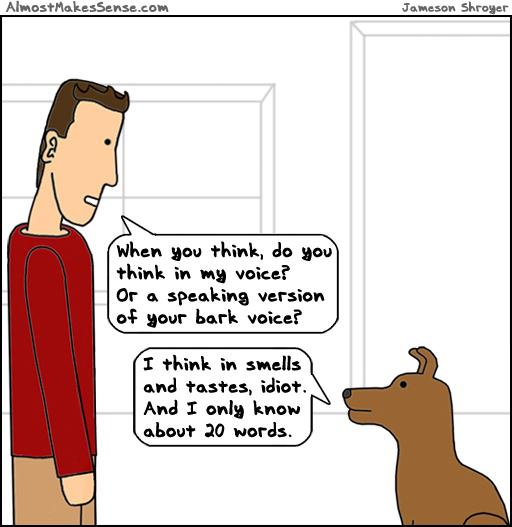 Dog Think