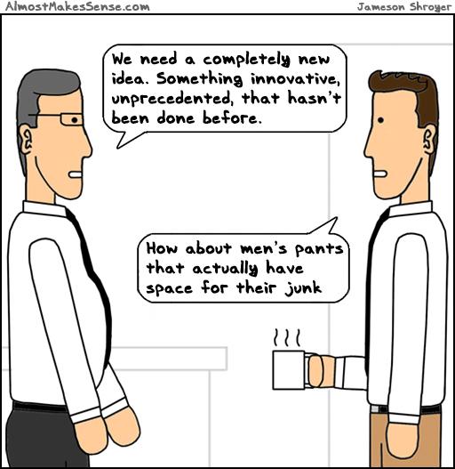 New Idea Mens Pants