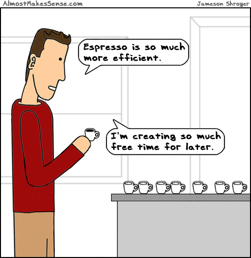 Espresso Efficient