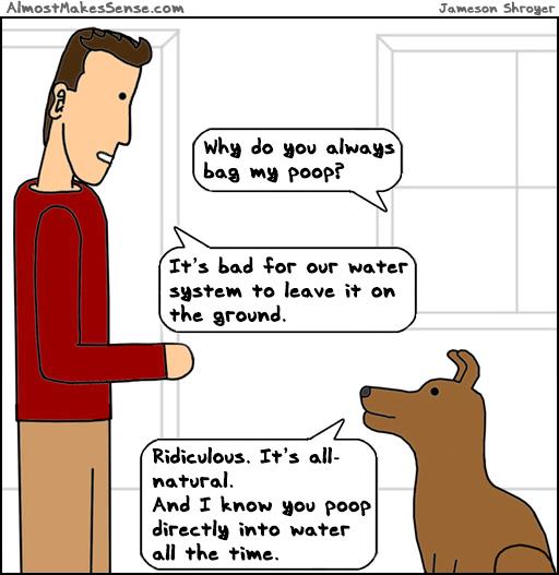 Bag Poop