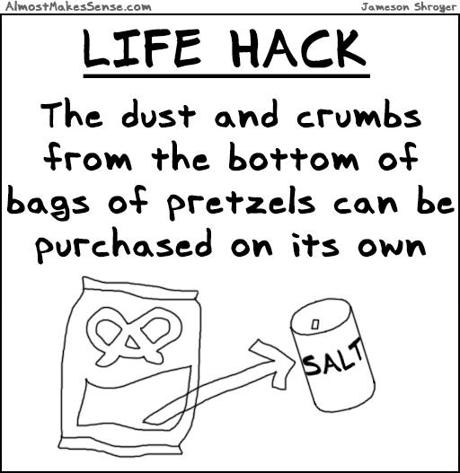 Life Hack Pretzels