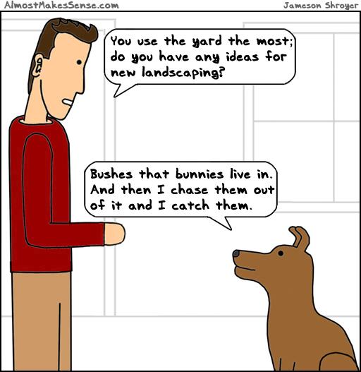 Dog Landscaping