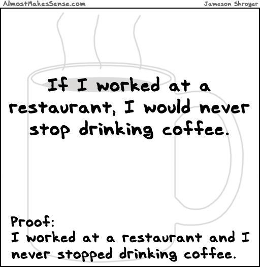 Worked Restaurant Coffee