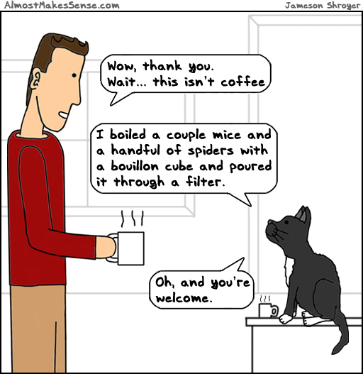 Cat Isn't Coffee