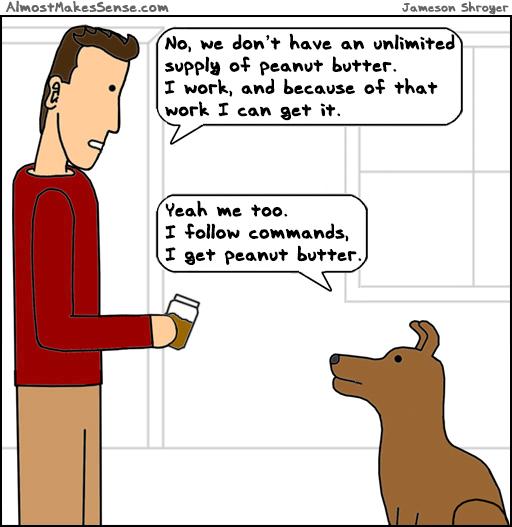 Peanut Butter Work