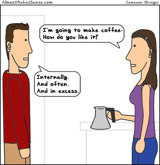 How Like Coffee