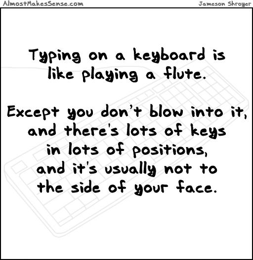 Flute Keyboard